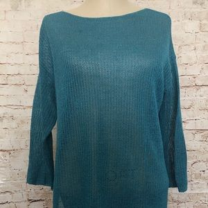 J.Jill Pullover Boat Neck Sweater Size Medium